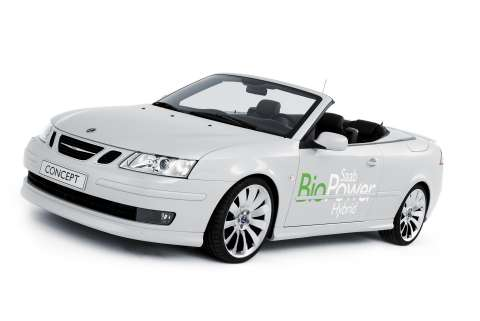 Saab Biopower Hybrid Concept Worlds First Fossil Free Hybrid