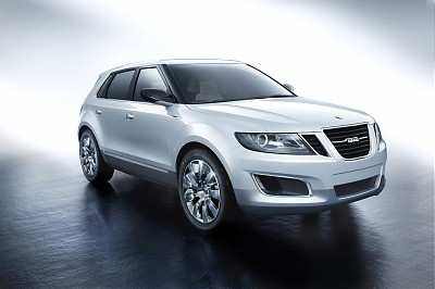 Saab 9-4X Biopower Crossover Concept 