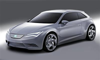SEAT IBE concept car (copyright image)