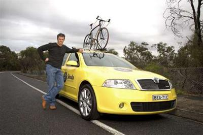 Skoda Announces New Ambassador Partnership with Cyclist, Phil Anderson
