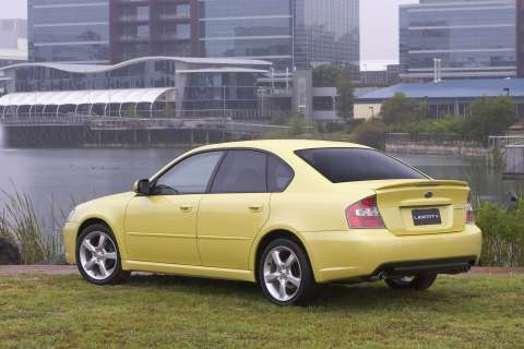 2006 Subaru Liberty 2.0R Limited Edition