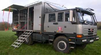 Tatra T5 assistance truck gives Bowler Off-Road the support it needs