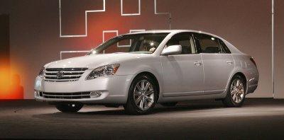 The 2005 Toyota Avalon for America