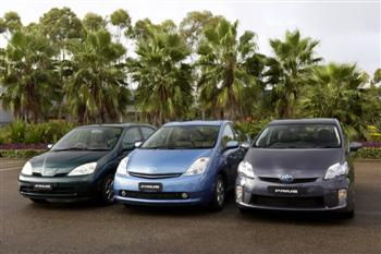 Toyota Prius - Generations 1, 2 and 3 (copyright image)