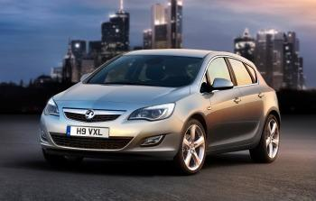 2010 Vauxhall Astra (GM Corp. copyright image)
