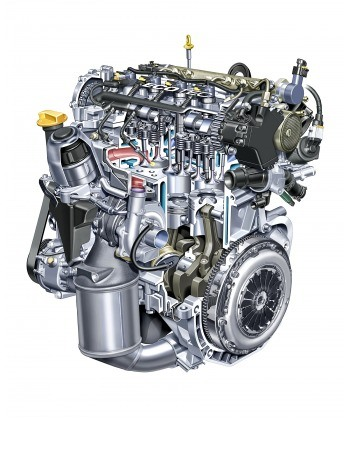 Diesel engine for the Vauxhall Astra