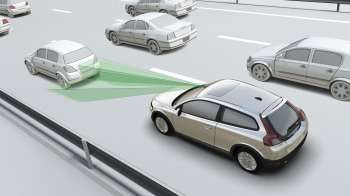 Volvo Presents Low Speed Collision Avoidance System