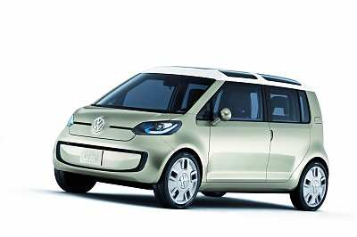 Volkswagen Space-Up! Blue Concept Car