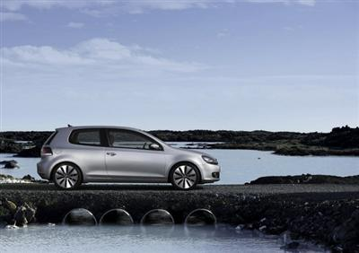Copyright image of the 2009 Volkswagen Golf