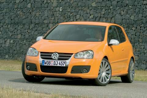 2005 Volkswagen Golf Orange Spped Concept