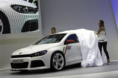 Volkswagen Scirocco Studie R unveiled in Bologna, Italy (copyright image)