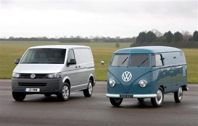 Volkswagen Transporter: 60 years on (copyright image)