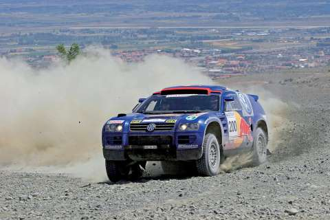 Diesel Touareg Wins FIA Rally World Cup