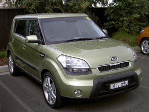 2009 Kia Soul (copyright image)  Photography: Stephen Walker