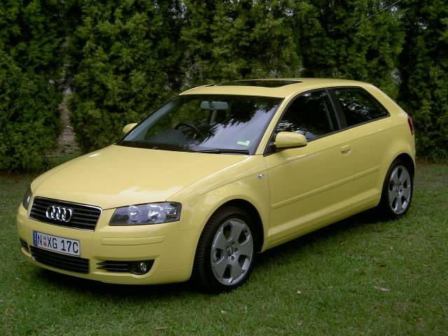A3 Sportback S-Line Toucan yellow | Audi-Sport.net