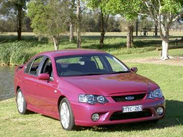 Ford Falcon XR6 (BF series) road test
