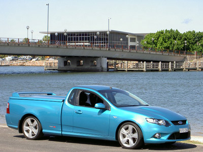 Ford Falcon XR8 road test (copyright image)