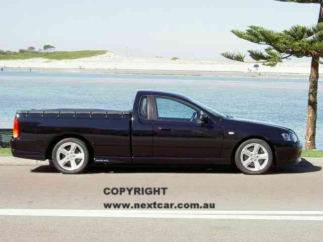 Ford Falcon XR6 Turbo utility (BA Mk II) road test