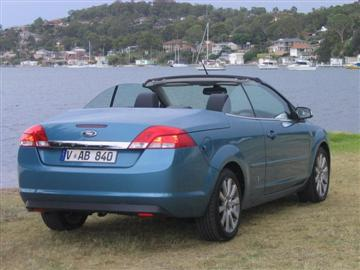 Ford Focus Coupe-Cabriolet  Image copyright: Next Car Pty Ltd  Click on the image for a larger view