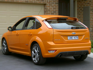 Ford Focus XR5 Turbo - LV series (copyright image)