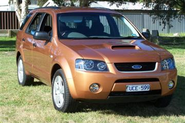 Ford Territory Turbo - SY series    Click on the image for a larger view