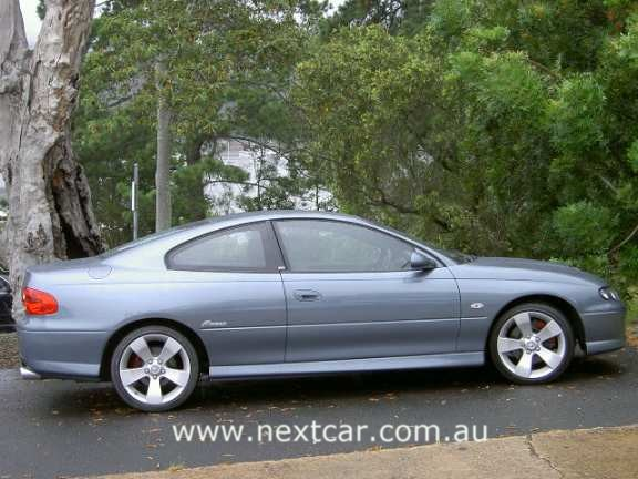 Holden Monaro CV8 coupe road test (copyright image)