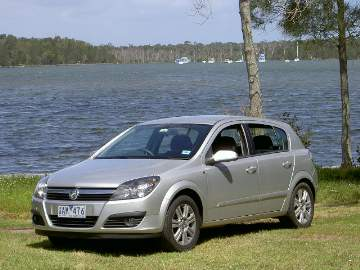 Holden Astra CDTi (manual) road test (copyright image)