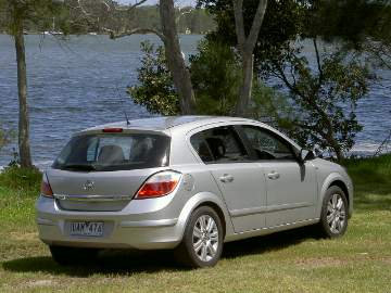 Holden Astra CDTi (manual) hatchback - AH series 