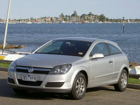 Holden Astra CD coupe road test (copyright image)