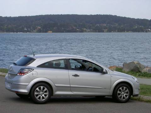 Holden Astra CD coupe. Location: Speers Point NSW