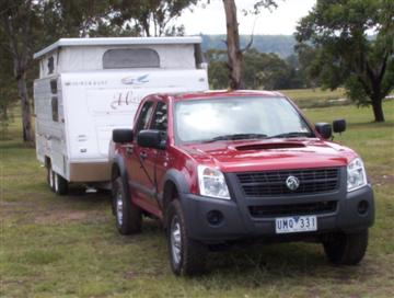 Holden Rodeo LX 4x4    Click on the image for a larger view