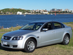 Holden Commodore Omega (LPG) road test (copyright image)