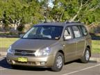 Kia Carnival road test (copyright image)