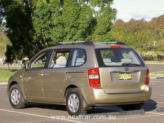 Kia Carnival. Kia Motors offer one of the