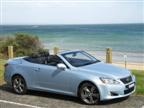 Lexus IS 250C road test (copyright image)