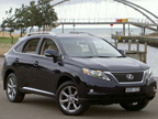 Lexus RX 350 Sport road test (copyright image)