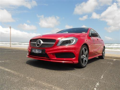 Mercedes benz a 250 sport road test next car pty ltd for Mercedes benz route 17