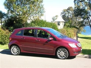 Mercedes-Benz B 200 (copyright image) 