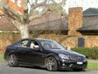 Mercedes-Benz C 63 AMG road test (copyright image)