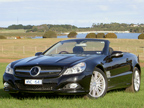 Mercedes-Benz SL 600 road test (copyright image)