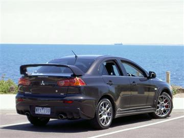 Mitsubishi Lancer Evolution MR (copyright image)