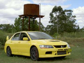 Mitsubishi Lancer Evolution IX road test