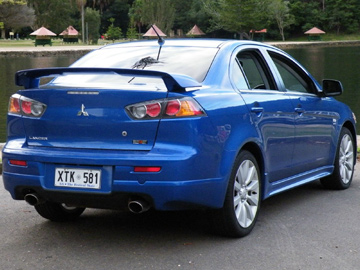 Mitsubishi Lancer Ralliart (copyright image)