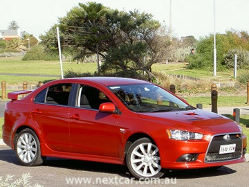 Mitsubishi Lancer Ralliart road test (copyright image)