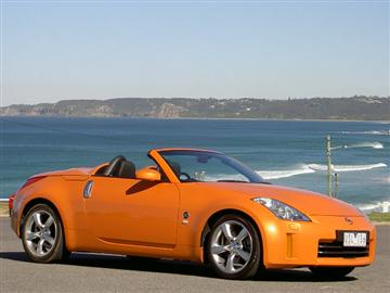 Nissan 350Z Roadster (copyright image) 