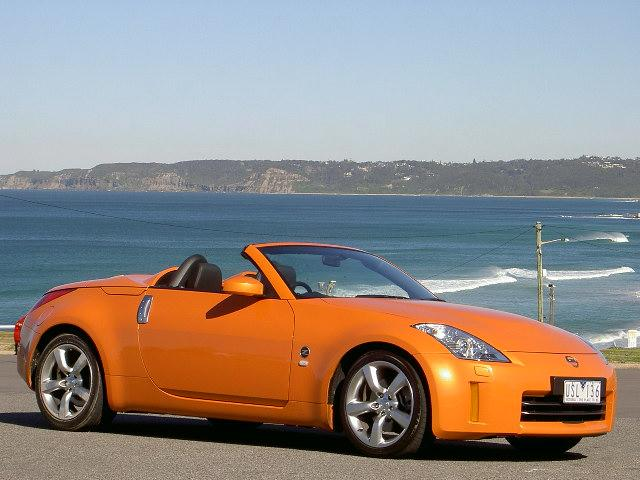 nissan 350z roadster road test - next car pty ltd - 13th october, 2008
