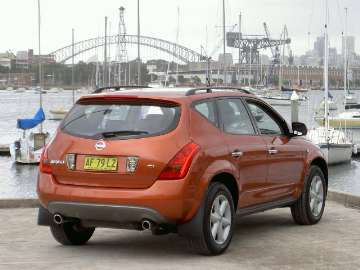 Nissan Murano Ti  Location: Rushcutters Bay NSW   Click on the image for a larger view
