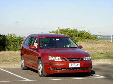 Saab 9-3 Linear SportCombi road test (copyright image)