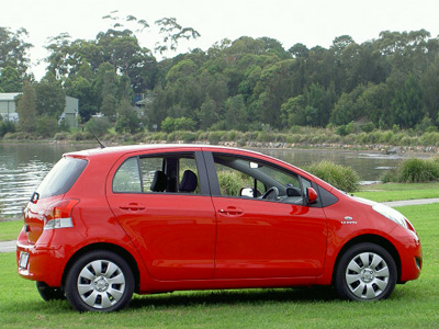 Toyota Yaris YRS (copyright image) 