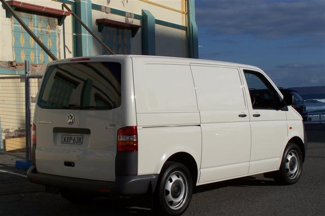 Vw Transporter Van. in Volkswagen#39;s T5